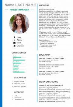 Project Manager Resume Template > Project Manager Resume Template .Docx (Word)