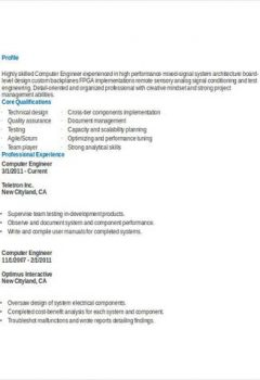 Computer Engineering Student Resume > Computer Engineering Student Resume .Docx (Word)