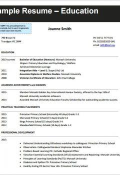 Free Teaching CV Template > Free Teaching CV Template .Docx (Word)