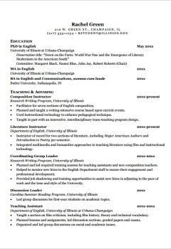 General Teaching CV Template > General Teaching CV Template .Docx (Word)