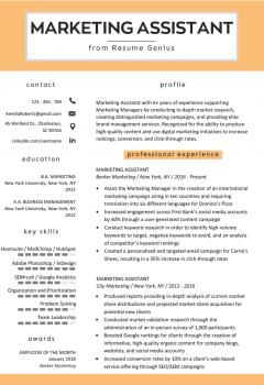 Marketing Assistant Resume Example > Marketing Assistant Resume Example .Docx (Word)
