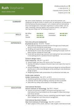 Sales Consultant Resume Sample > Sales Consultant Resume Sample .Docx (Word)