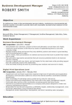 Business Development Manager Resume > Business Development Manager Resume .Docx (Word)