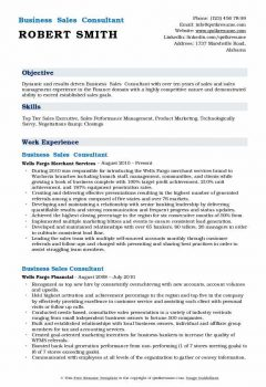 Business Sales Consultant Resume > Business Sales Consultant Resume .Docx (Word)