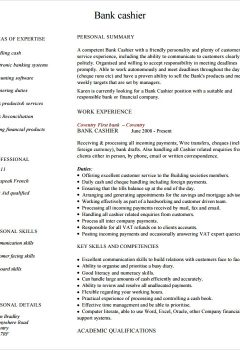 Cashier Resume Example > Cashier Resume Example .Docx (Word)
