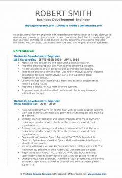 Business Development Engineer Resume3