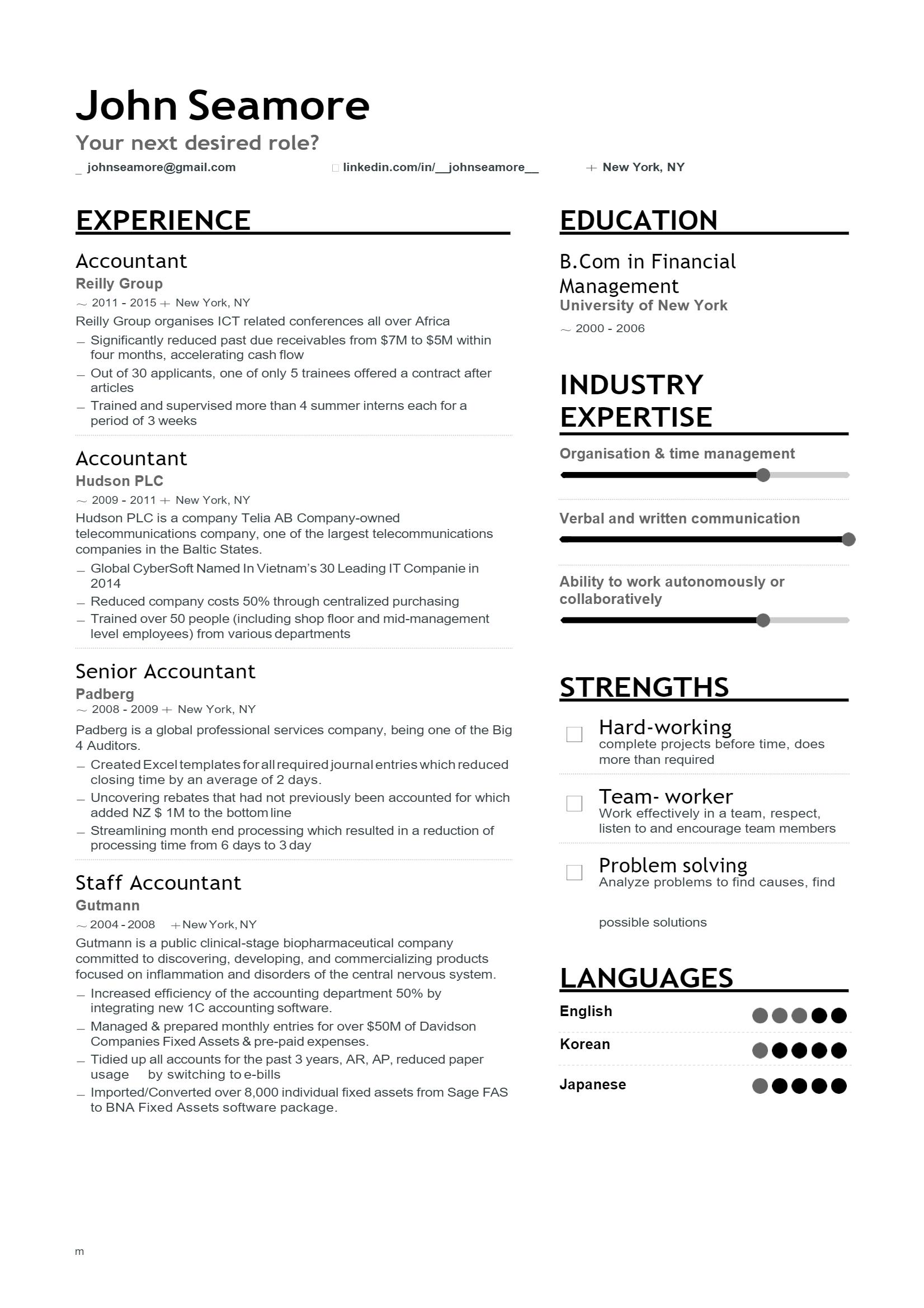 Accountant Resume > Accountant Resume .Docx (Word)