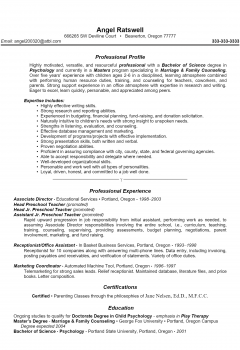 Counselor Resume > Counselor Resume .Docx (Word)