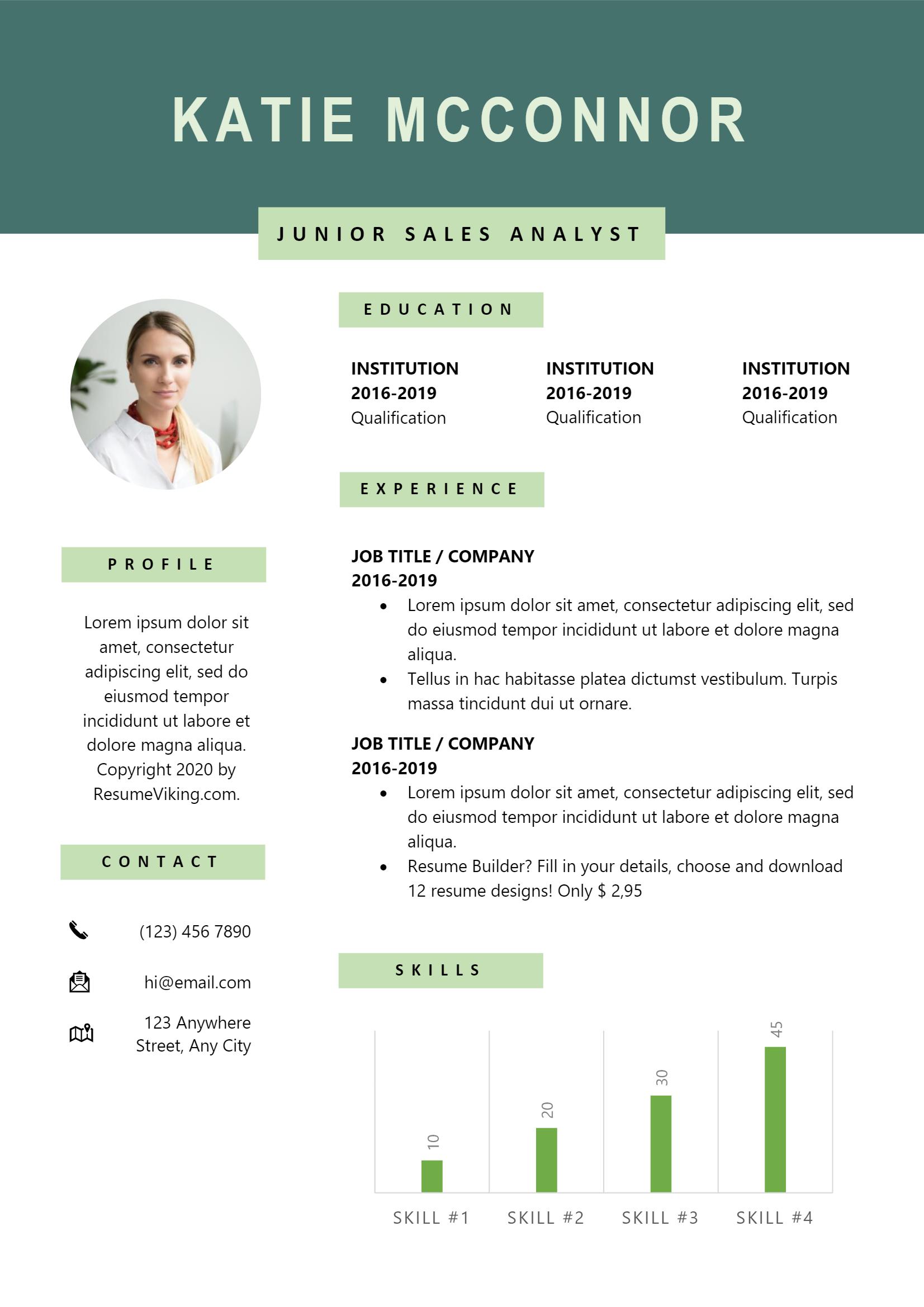 Junior Sales Analyst