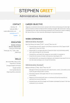 Administrative Assistant Resume > Administrative Assistant Resume .Docx (Word)