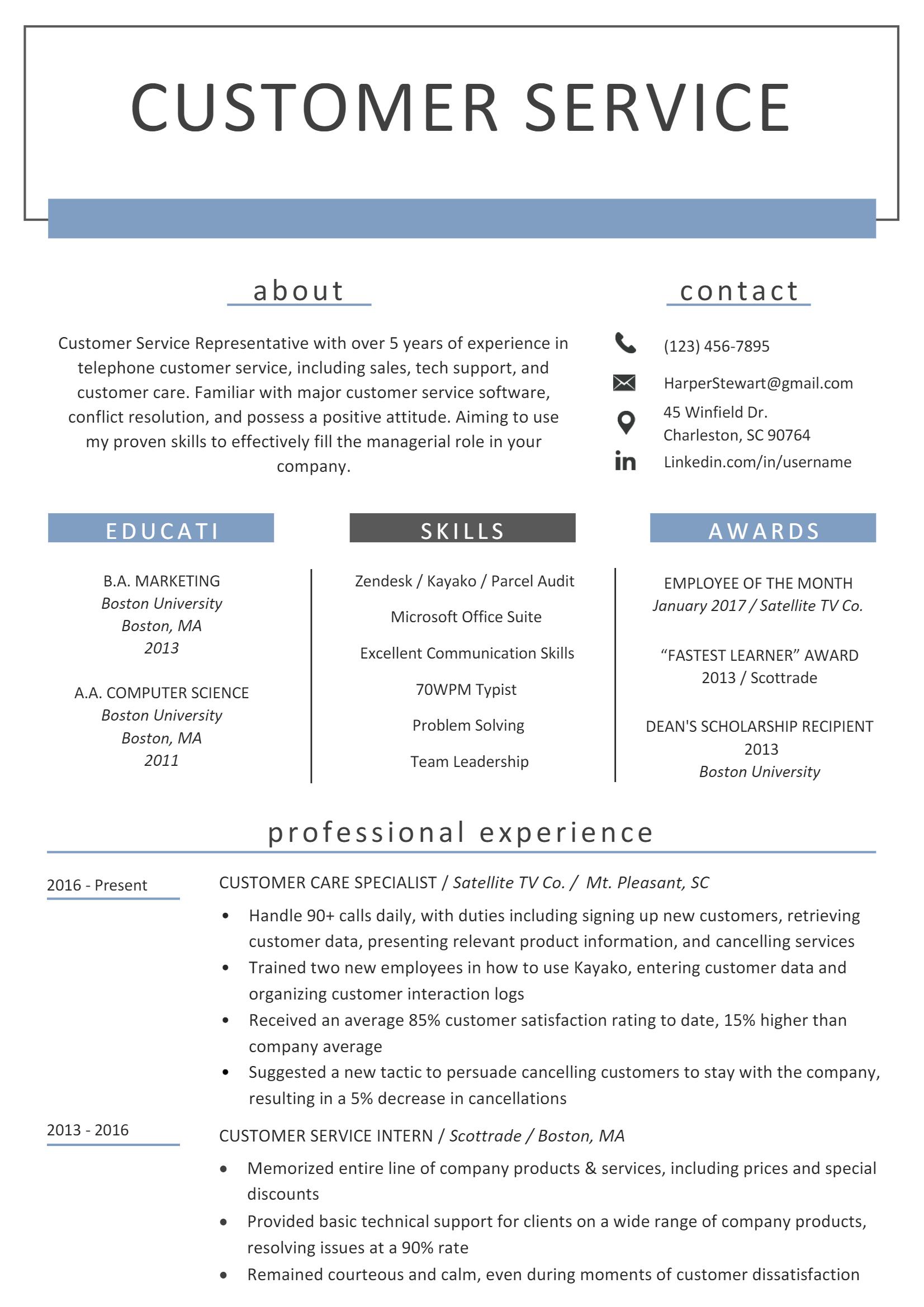 Online Customer Service Representative