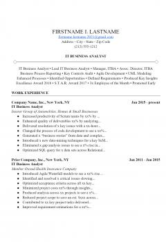 IT Analyst Resume > IT Analyst Resume .Docx (Word)