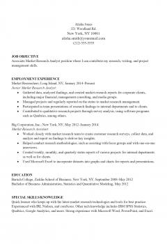 Market Analyst Resume > Market Analyst Resume .Docx (Word)