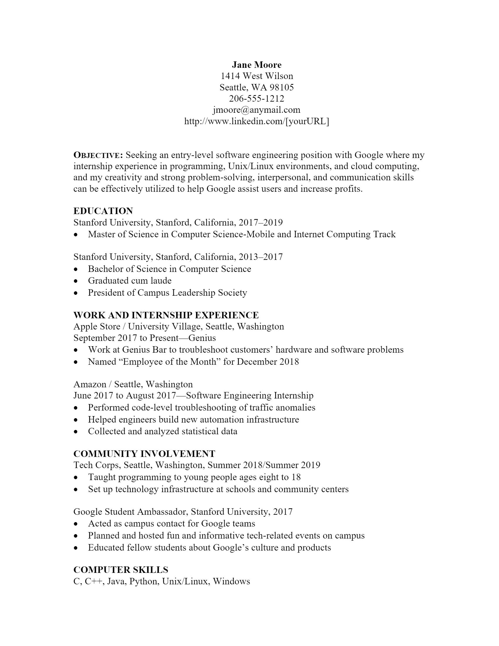 Software Engineer Resume > Software Engineer Resume .Docx (Word)