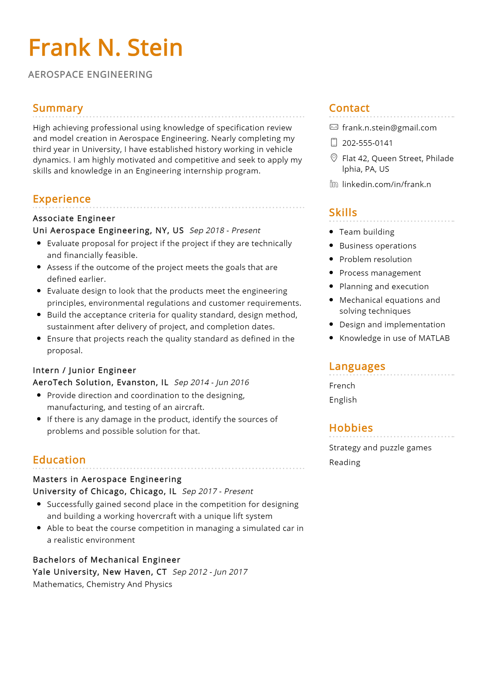 Aerospace Engineer .Docx (Word)