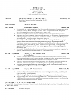 Chemical Engineer > Chemical Engineer .Docx (Word)