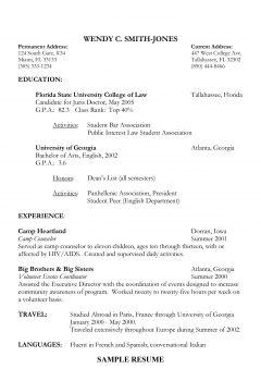 Lawyer Resume > Lawyer resume .Docx (Word)