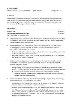 Senior Executive Resume .Docx (Word)