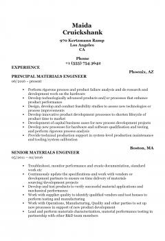 Materials Engineer .Docx(Word)