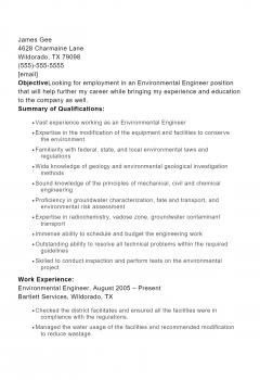 Environmental Engineer .Docx(Word)