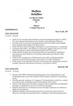 Tax Analyst > Tax Analyst .Docx(Word)