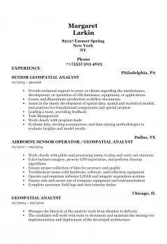 Geospatial Analyst .Docx(Word)
