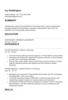 Nursing Manager .Docx(Word)