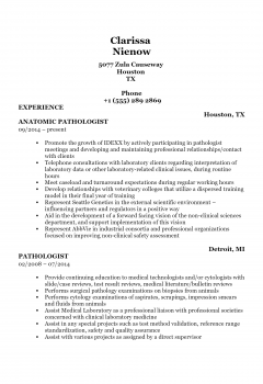 Pathologist .Docx(Word)
