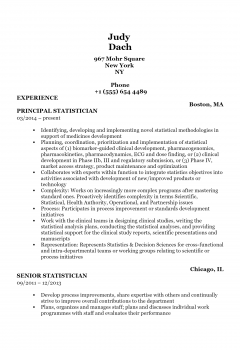 Statistician .Docx(Word)