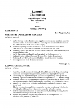 Laboratory Manager .Docx(Word)